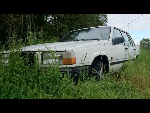 Volvo 740 Cold Start After 6 Years (1080p)