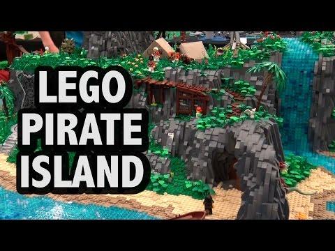 Custom LEGO Pirate Island | BrickCon 2016