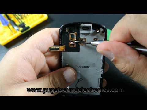 How to disassemble/take apart At&t Samsung Solstice 2 A817