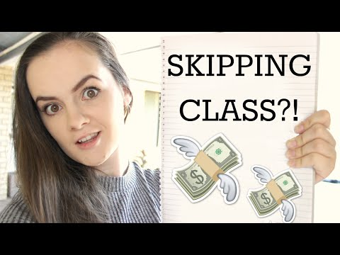 SKIPPING CLASS - How Much Does it Cost You?!