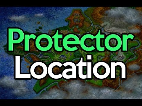 Pokemon X and Y Protector Item Location