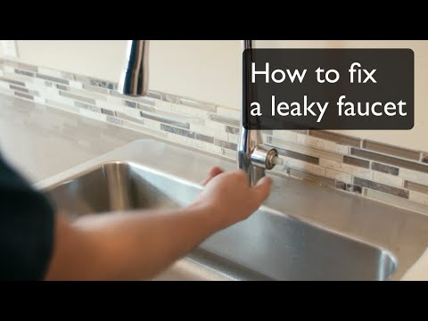 How to Fix A Leaky Faucet - Single-Handle Faucet by Kohler.  By Best Plumbing (206) 633-1700