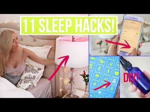 How To Fall Asleep FAST ☾ 11 Life Hacks for Sleep