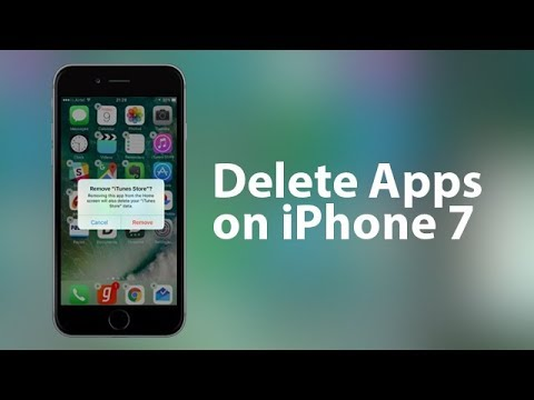 How to Delete/Remove/Uninstall Multiple Apps on iPhone 7 Plus/7 in One Click.