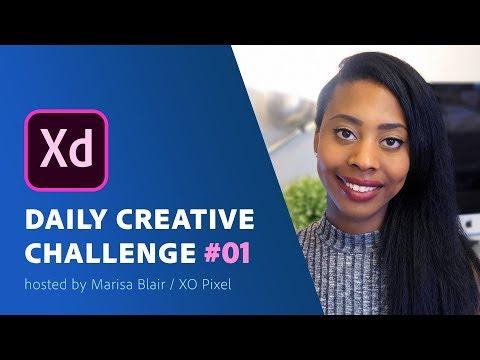 Adobe XD Daily Creative Challenge #1