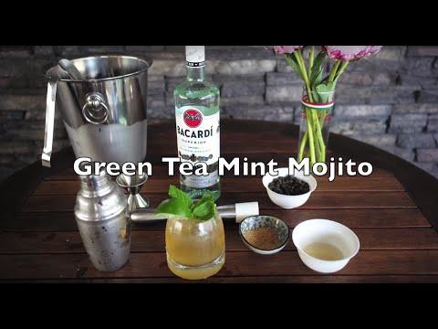 Jasmine Green Tea Mint Mojito Recipe and How To