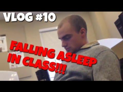 FALLING ASLEEP IN CLASS!!! Mason Vlog #10 1.26.2015