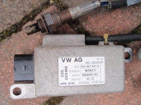 VW  Golf 1.6  FSI SE Mk 5  Lambda Sensor Changing