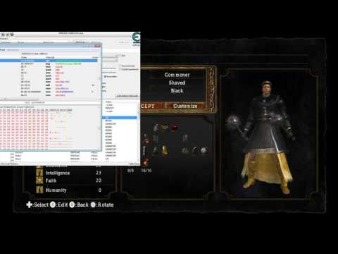 How to make custom classes with Cheat Engine + loot editing