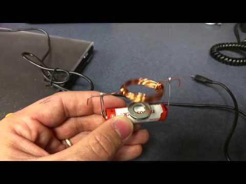DIY Motor with AA Battery