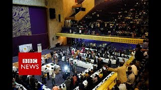 Mugabe Resigns: the moment the resignation letter was read at the Parliament  - BBC News