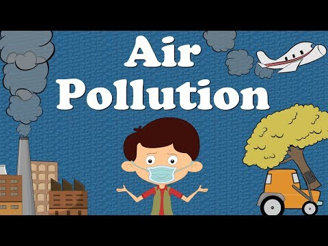 Air Pollution for Kids | It's AumSum Time