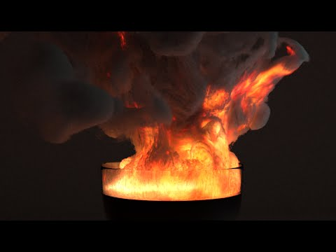 Blender 2 71 Cycles Smoke and Fire Demos Part 2