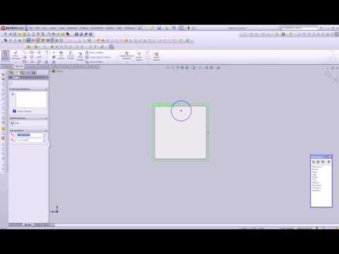 Solidworks Tutorials, Creating Custom Sketching Plane