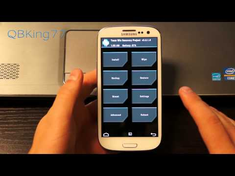 How to Install The People's Rom on Sprint Samsung Galaxy S III