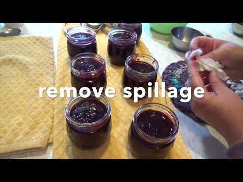 Bestest Agave Blackberry Jam Ever (no sugar)