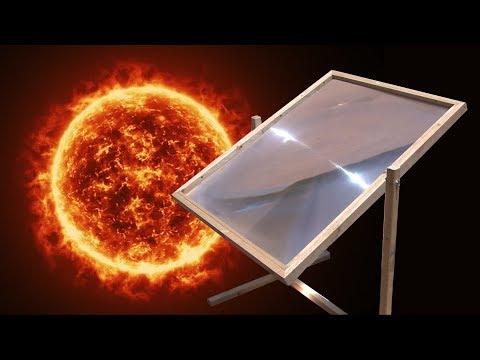 Solar Death Ray vs. iPod