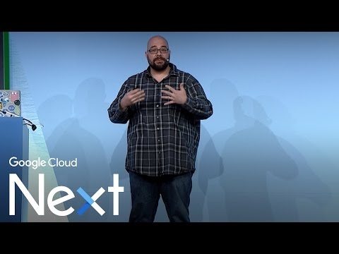 You can run that on App Engine? (Google Cloud Next '17)