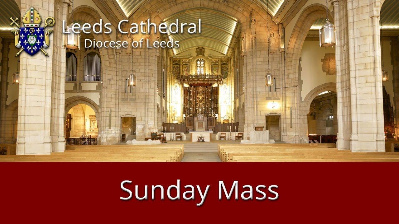 Leeds Cathedral 11 o'clock Mass Sunday 09-05-2021