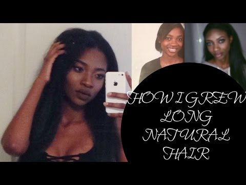 5 TIPS | HOW TO GROW LONG NATURAL HAIR FOR BLACK WOMEN FAST