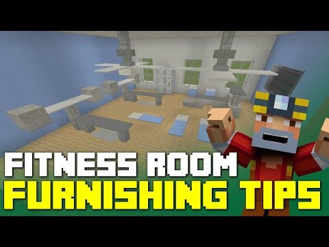 Minecraft Xbox 360/One: Fitness Room Furnishing Tips and Ideas!