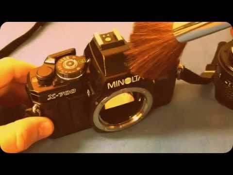 Minolta 35mm Cameras - ASMR Whisper