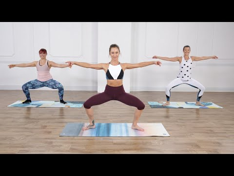 30-Minute No-Equipment Barre Sculpting Workout