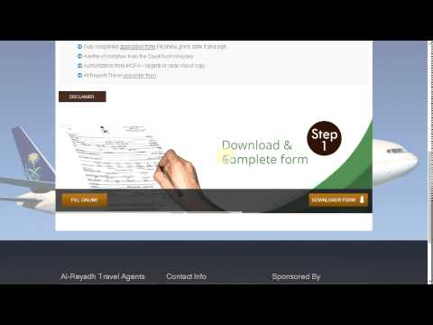 How to Apply Work Visit Visa Online