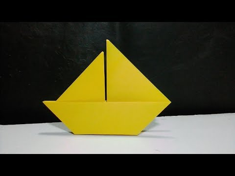 How To Make Simple Paper Boat | Simple Paper Boat For Kids | Simple Paper Boat Instructions