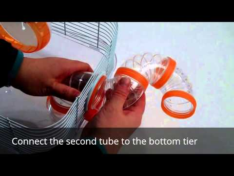 How to assemble a Double Layer Hamster Cage
