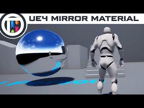 Unreal Engine 4 Tutorial - Create a Mirror Material in UE4