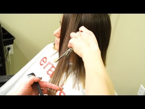 How To Cut a Textured Bob // Short Haircuts for women