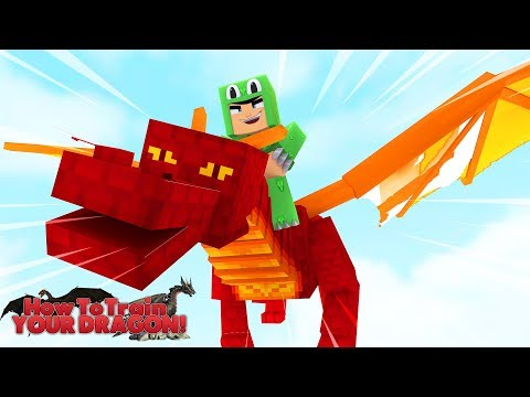 HOW TO TRAIN YOUR DRAGON - FLYING ON OUR DRAGONS! #5 w/ Little Lizard