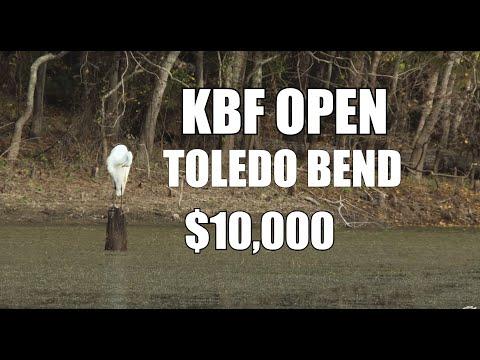 Fishing Toledo Bend | Kayak Bass Fishing OPEN | END ON THE BEND