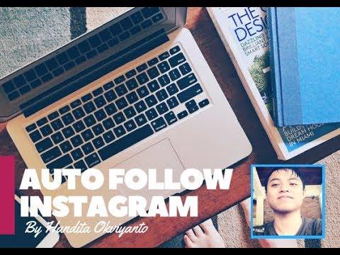 Cara Auto Follow Instagram Gratis pake Script Instagram Bot Python