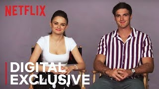 Joey King & Jacob Elordi American vs. Australian Word Battle | The Kissing Booth | Netflix