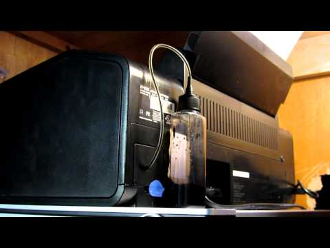 Epson R280 With Custom Waste Ink Setup