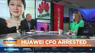 China outraged at arrest of Huawei CFO in Canada after US request   #GME