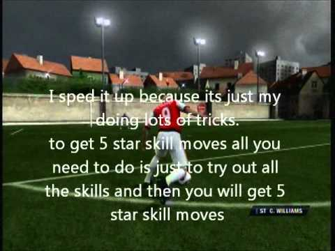 Fifa 11 virtual pro how to get 5 star skill moves
