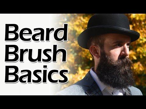 How to Brush a Beard