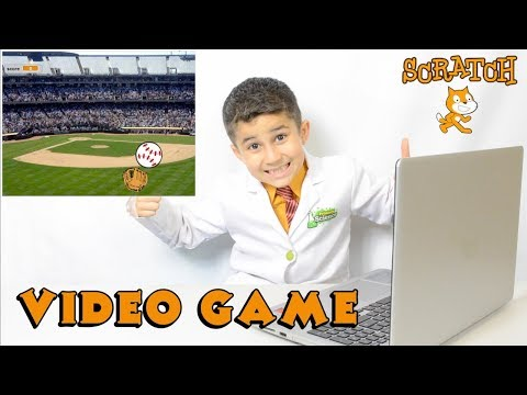 Make your own video game! learn Scratch programming Jojo's science show Ep#42