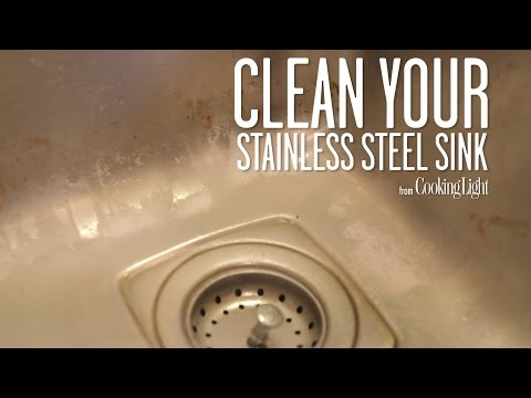 How to Clean Your Stainless Steel Sink | Cooking Light
