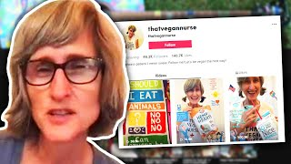 That Vegan Teacher Made A NEW TikTok Account... (That Vegan Nurse)
