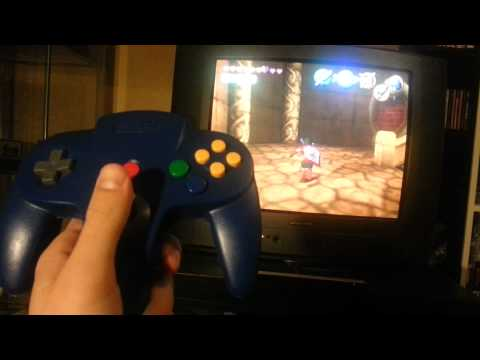 N64 to Gamecube/Wii adapter for Zelda on Virtual Console prototype (ess fix)