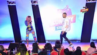Alex Muhangi Comedy Store April18 - Sheebah Karungi