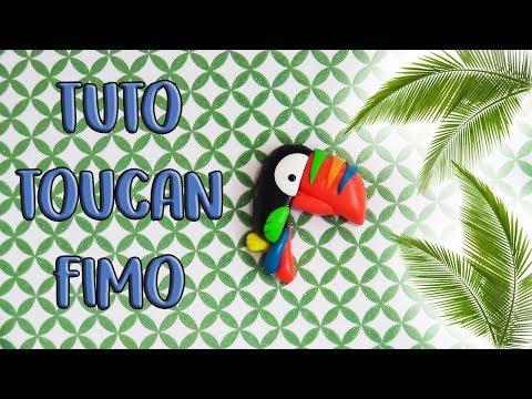 { TUTO }  TOUCAN FIMO | TOUCAN POLYMER CLAY TUTORIAL