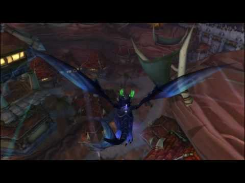 Flying in Azeroth