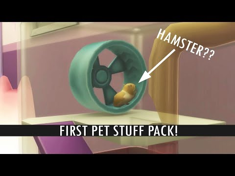 STUFF PACK FOR THE SIMS 4 CATS & DOGS?? (Hamster + more pets)