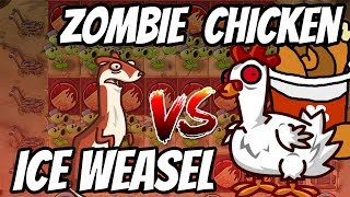 Chickening vs Weaseling???   Peashooter Challenge   Plants vs Zombies 2 Epic MOD