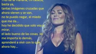 Amaia Montero-100 Metros ft. Lucas Vidal-letra-lyrics